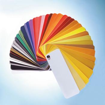Easi-Bind Farbfächer
