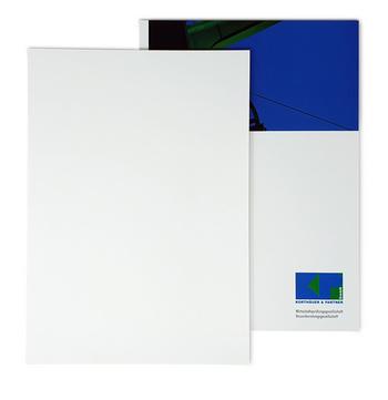 Fastback Buchdeckel White Coat