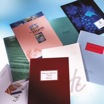 Auswahl Easi-Bind Mappen